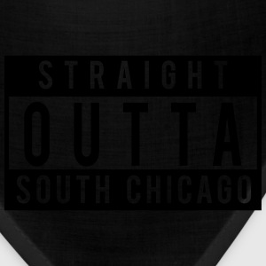 Straight Outta South Chicago T-Shirts - Bandana