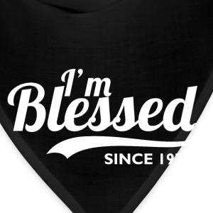 I'm blessed since 1974 - Birthday Thanksgiving - Bandana