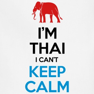 i'm Thai i Can't Keep Calm Tank Tops - Adjustable Apron