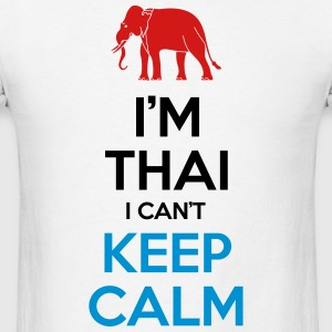 i'm Thai i Can't Keep Calm Tank Tops - Men's T-Shirt