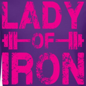 Lady of Iron Women's T-Shirts - Crewneck Sweatshirt