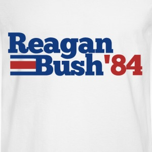 Reagan Bush 1984 84 republican  - Men's Long Sleeve T-Shirt