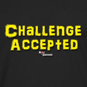 Challenge Accepted T-Shirts - Men's Premium Long Sleeve T-Shirt