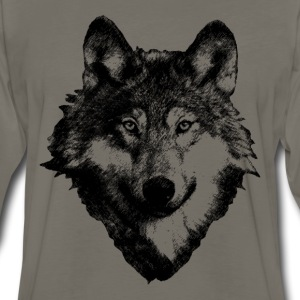 Wolf Art Design T-Shirts - Men's Premium Long Sleeve T-Shirt