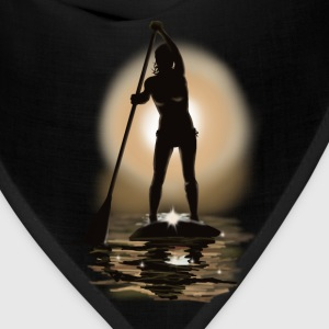 paddle boarding Women's T-Shirts - Bandana