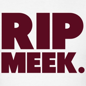RIP Meek Shirt Hoodies - Men's T-Shirt