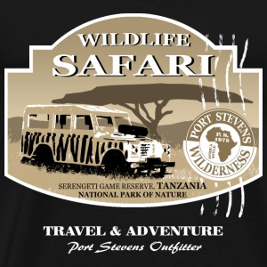 Landrover Jeep Safari Wildlife Hoodies - Men's Premium T-Shirt