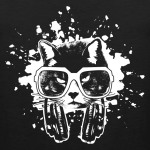 Hip Hop Cool Cat T-Shirts - Men's Premium Tank