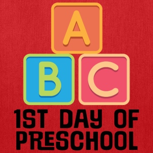 1st Day Of Preschool Baby & Toddler Shirts - Tote Bag