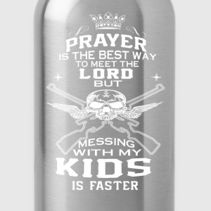 Mess With My Kids! - Water Bottle