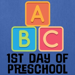 1st Day Of Preschool Kids' Shirts - Tote Bag