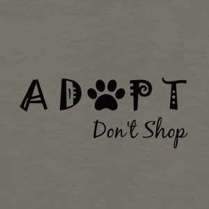 Adopt. Don't Shop. - Men's Premium Long Sleeve T-Shirt