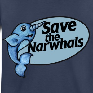 Save the narwhals  - Toddler Premium T-Shirt