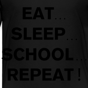 School Repeat Kids' Shirts - Toddler Premium T-Shirt