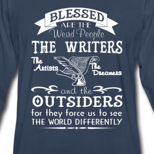 Writers, Artists, Dreamers - Men's Premium Long Sleeve T-Shirt