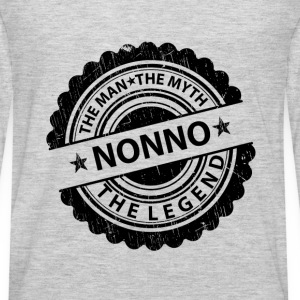 Nonno-The Man The Myth The Legend  Baby & Toddler Shirts - Men's Premium Long Sleeve T-Shirt