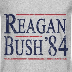 Retro Reagan Bush '84 Election - Men's Long Sleeve T-Shirt