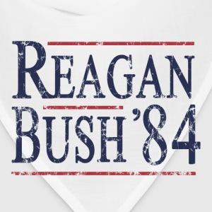 Retro Reagan Bush '84 Election - Bandana