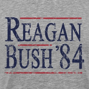 Retro Reagan Bush '84 Election - Men's Premium T-Shirt