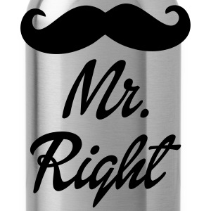 Mr. Right T-Shirts - Water Bottle