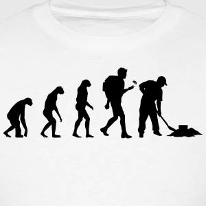 Evolution geocaching Hoodies - Men's T-Shirt
