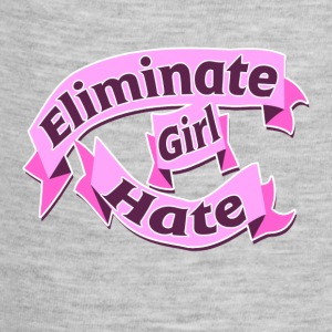Eliminate Girl Hate feminist girl - Baby Contrast One Piece