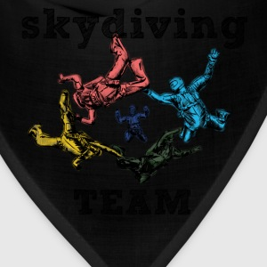 skydivers Women's T-Shirts - Bandana