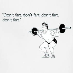 Funny fitness fart t shirt - Adjustable Apron