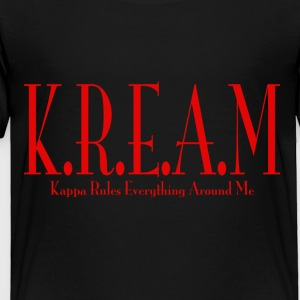 K.R.E.A.M Black - Toddler Premium T-Shirt