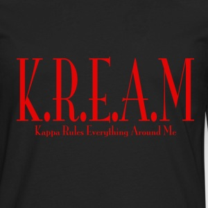 K.R.E.A.M Black - Men's Premium Long Sleeve T-Shirt