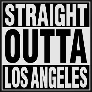 Straight Outta LA Kids' Shirts - Toddler Premium T-Shirt