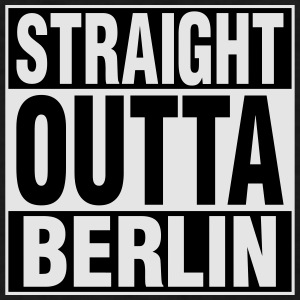 Straight Outta BERLIN Baby & Toddler Shirts - Men's T-Shirt