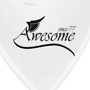Awesome Since 1977 T-Shirts - Bandana