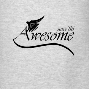 Awesome Since 1986 Hoodies - Men's T-Shirt