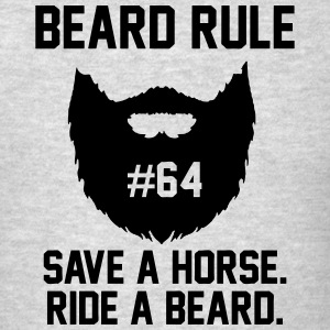 Beard Rules Hoodies - Men's T-Shirt