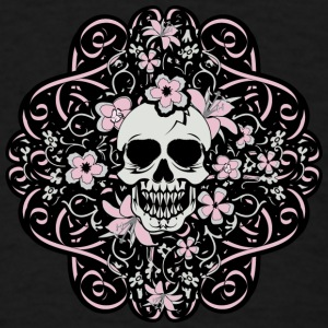 Girly Vintage Skull - Men's T-Shirt