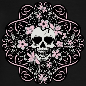 Girly Vintage Skull - Men's Premium T-Shirt
