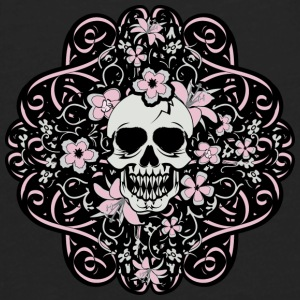 Girly Vintage Skull - Men's Premium Long Sleeve T-Shirt