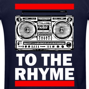 To The Rhyme - Men's T-Shirt