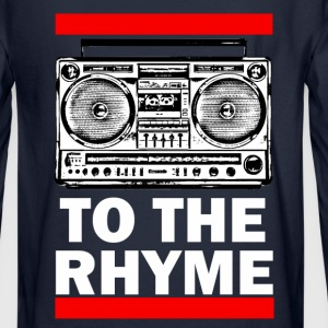 To The Rhyme - Men's Long Sleeve T-Shirt