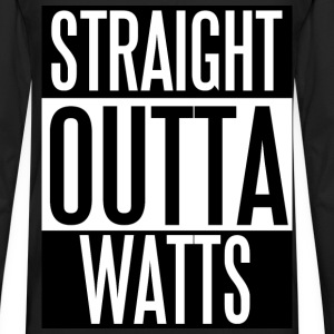 Straight Outta Watts - Men's Premium Long Sleeve T-Shirt