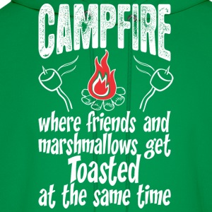 Campfire Where Friends And Marshmallows Get Toast - Men's Hoodie