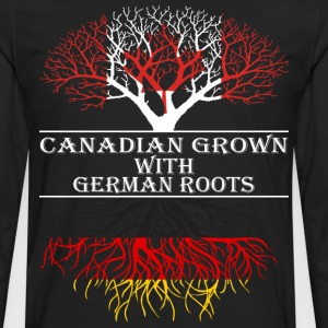 Canadian Grown With German Roots - Men's Premium Long Sleeve T-Shirt