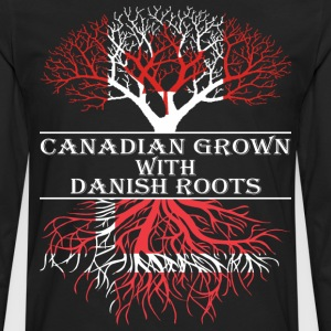 Canadian Grown With Danish Roots - Men's Premium Long Sleeve T-Shirt