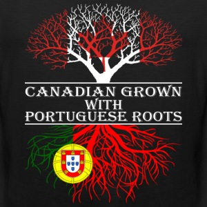 Canadian Grown With Portuguese Roots - Men's Premium Tank