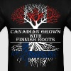 Canadian Grown With Finnish Roots - Men's T-Shirt