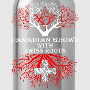 Canadian Grown With Swiss Roots - Water Bottle