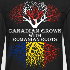 Canadian Grown With Romanian Roots - Men's Premium Long Sleeve T-Shirt