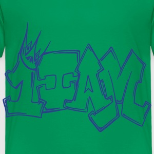 1IAM Graffiti Outline - Toddler Premium T-Shirt