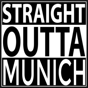 Straight Outta MUNICH Bags & backpacks - Men's Premium Tank